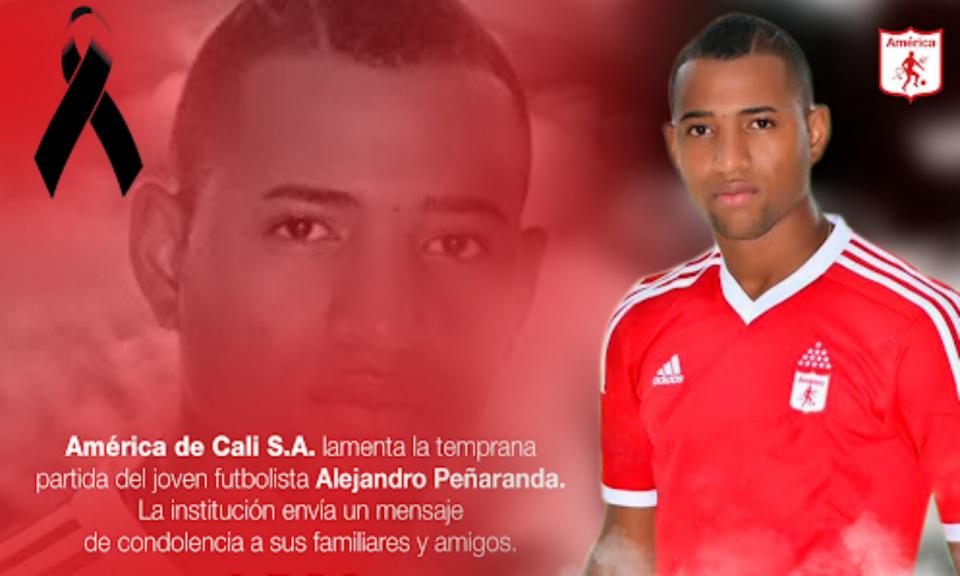 Óbito: jogador colombiano assassinado a tiro