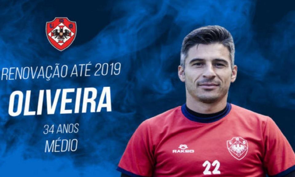 II Liga: Oliveirense renova com Oliveira