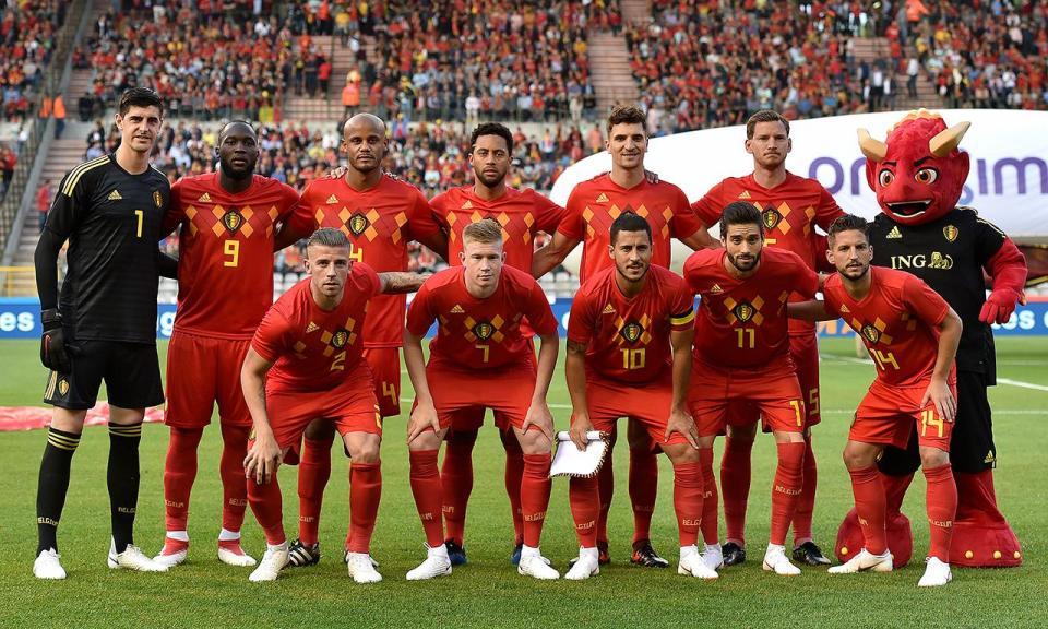 f155ab4bd9 Mundial 2018  23 convocados e um jogador de reserva na lista da Bélgica