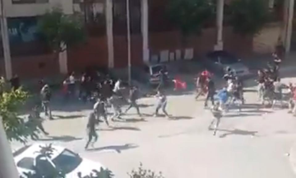 VÍDEO: confrontos de rua entre adeptos de Sp. Braga e Benfica