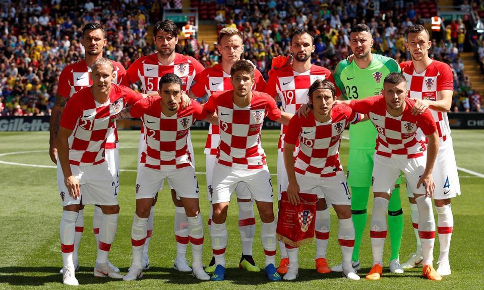 Mundial 2018: os 23 convocados da Croácia