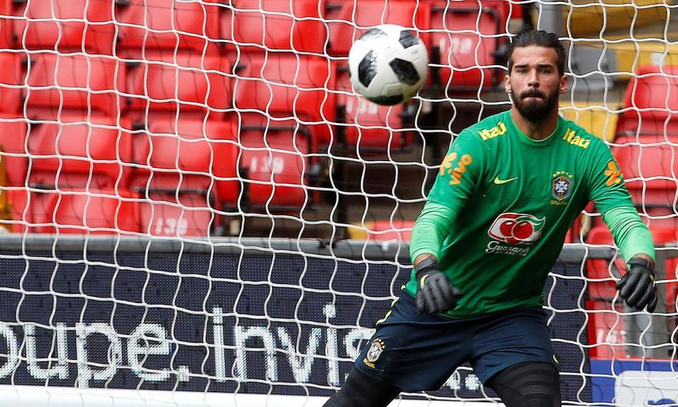 Roma: Monchi confirma saída iminente de Alisson para o Liverpool