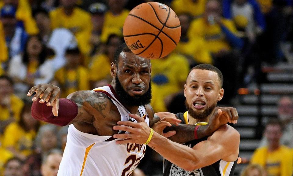 NBA: Warriors batem Cavs e lideram final por 2-0