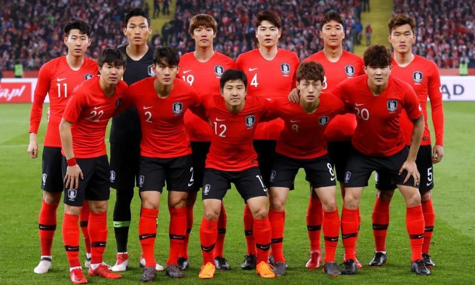 Mundial2018  «espiões» e camisolas trocadas antes do Suécia-Coreia ... 5c3a386733f74