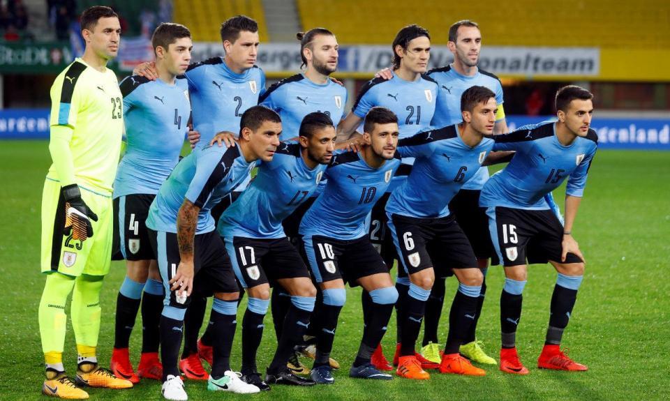 Mundial 2018: Uruguai já está em Ekaterimburgo