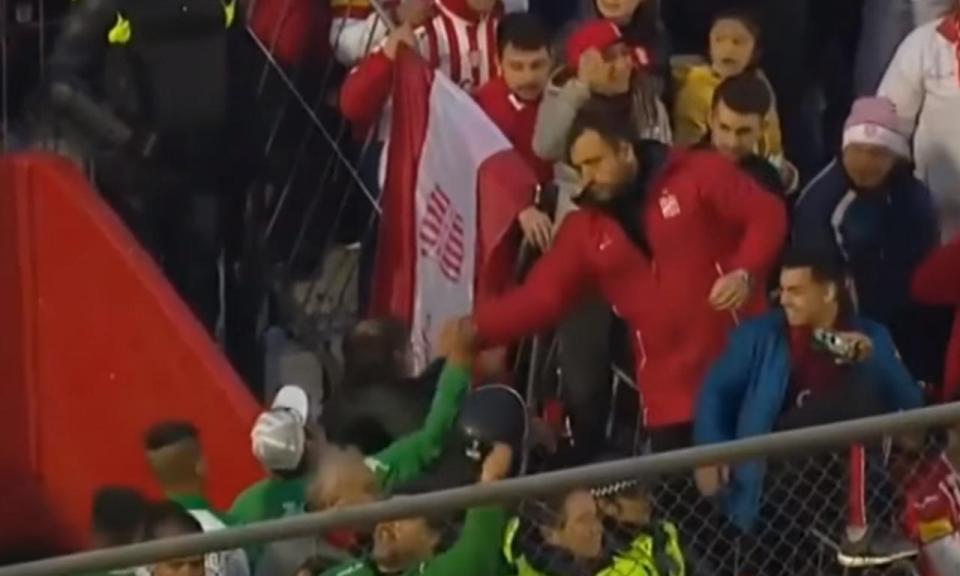 VÍDEO: o grande gesto de fair-play entre adeptos na Argentina