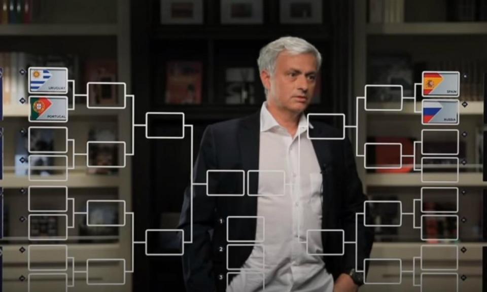 VÍDEO: a «bola de cristal» de José Mourinho para o Mundial 2018