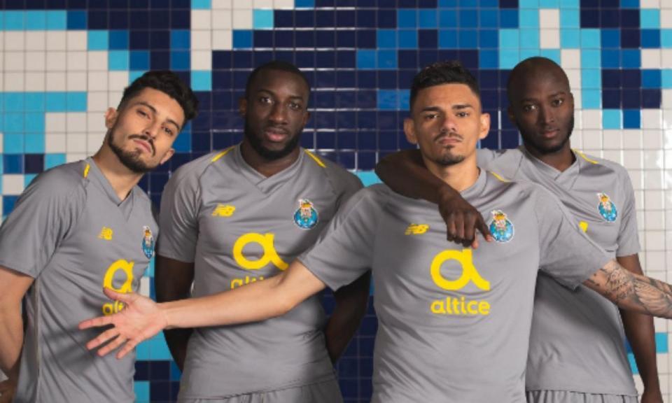 OFICIAL: o equipamento alternativo do FC Porto para 2018/19