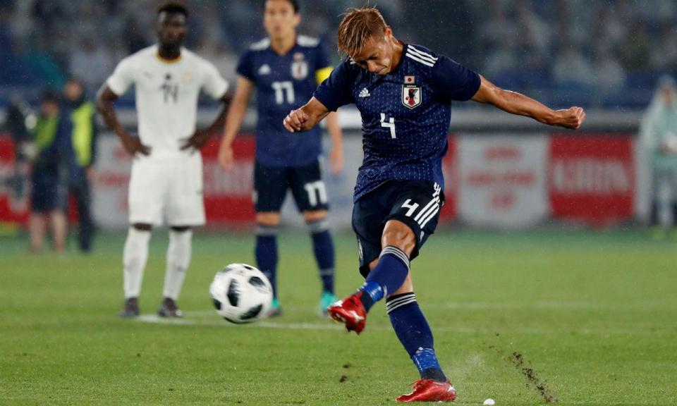 OFICIAL: Keisuke Honda vai jogar no campeão da Austrália