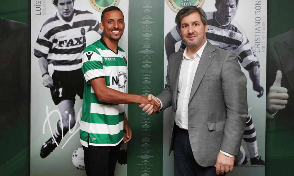 Bruno Gaspar no Sporting: «É um sonho»