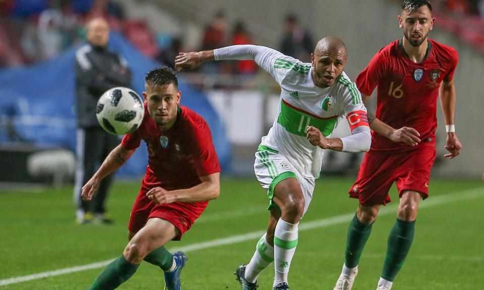 Brahimi: «Portugal faz parte dos favoritos no Mundial 2018»