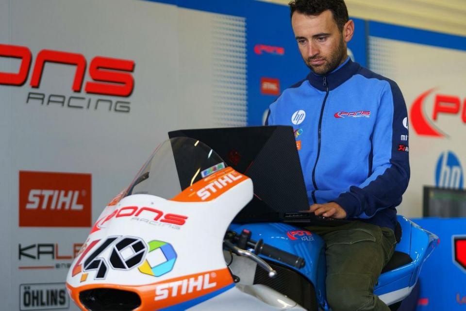 Moto2: Héctor Barberá condenado a trabalho comunitário