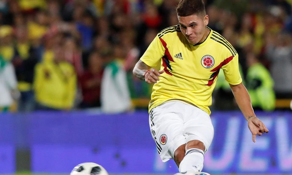 VÍDEO: Quintero marca primeiro golo do River na Liga à 4.º ronda