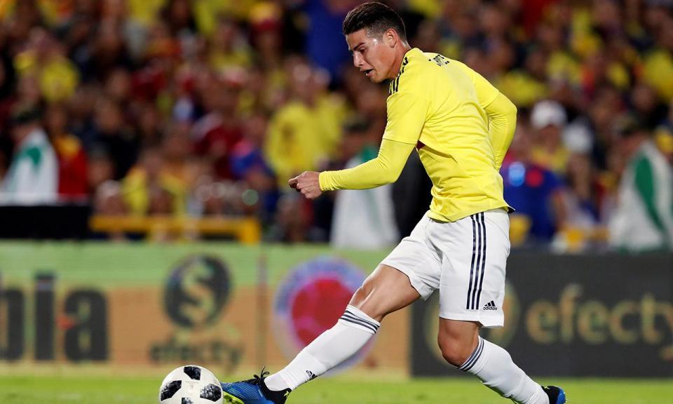 VÍDEO: golaço de James na vitória da Colômbia sobre os EUA
