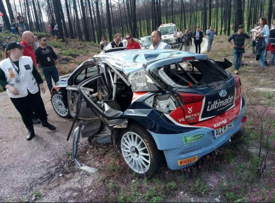 Rali Vidreiro: Carlos Vieira sofre acidente violento
