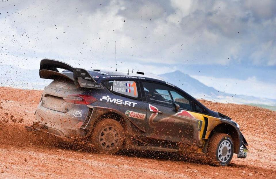 WRC: Ogier mantém liderança do Rali da Sardenha