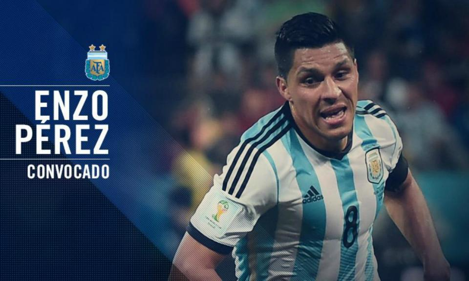 Argentina: Enzo Pérez substitui Lanzini do Mundial