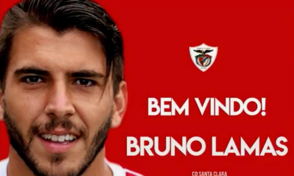 OFICIAL: Bruno Lamas no Santa Clara