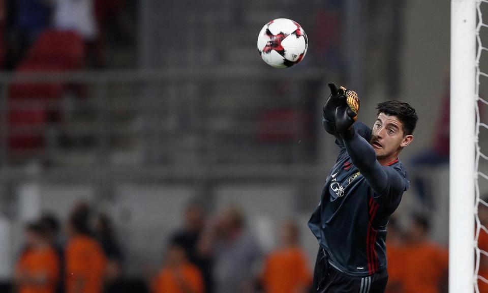 Courtois e os cânticos contra o Real Madrid: «Era muito jovem»
