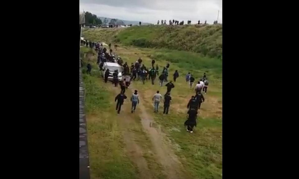 VÍDEO: confrontos no Paredes-Leça em jogo decisivo para a subida