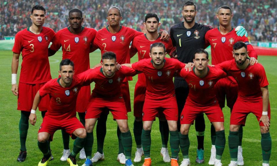 Portugal-Espanha (onzes): Bruno Fernandes titular