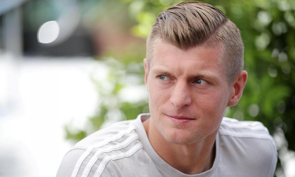Toni Kroos vence prémio de melhor jogador alemão