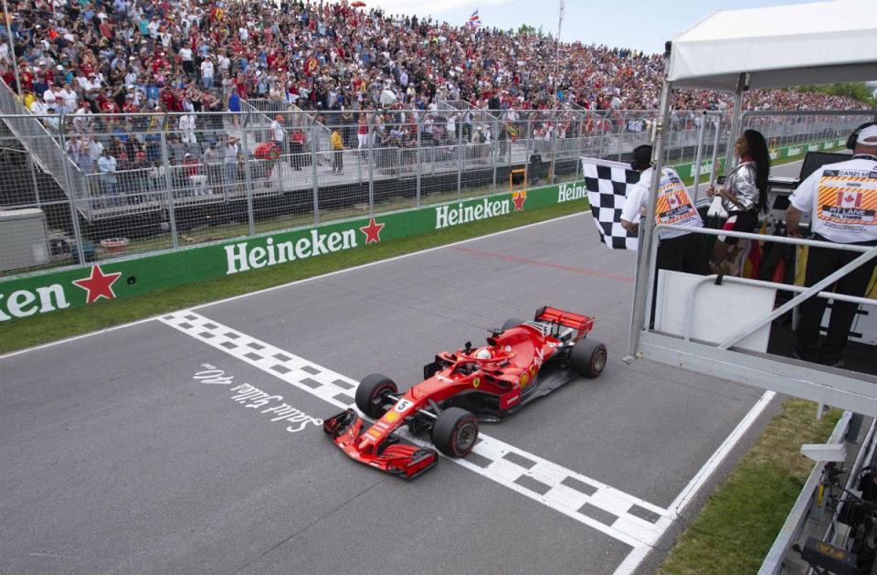 Vídeo: o GP do Canadá de F1 em 60 segundos