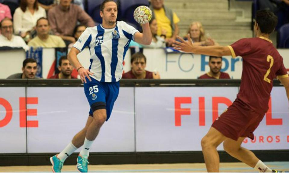 Andebol: FC Porto apura-se para a 2.ª pré-eliminatória da Taça EHF
