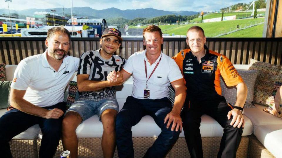 Moto2: Jorge Martin vai ocupar lugar de Miguel Oliveira na KTM Ajo em 2019