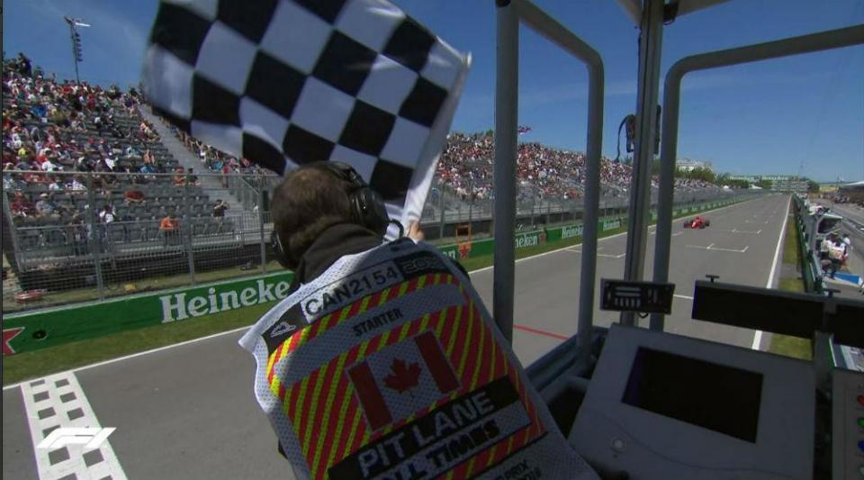 F1: FIA vai analisar sistema automático para a bandeira de xadrez