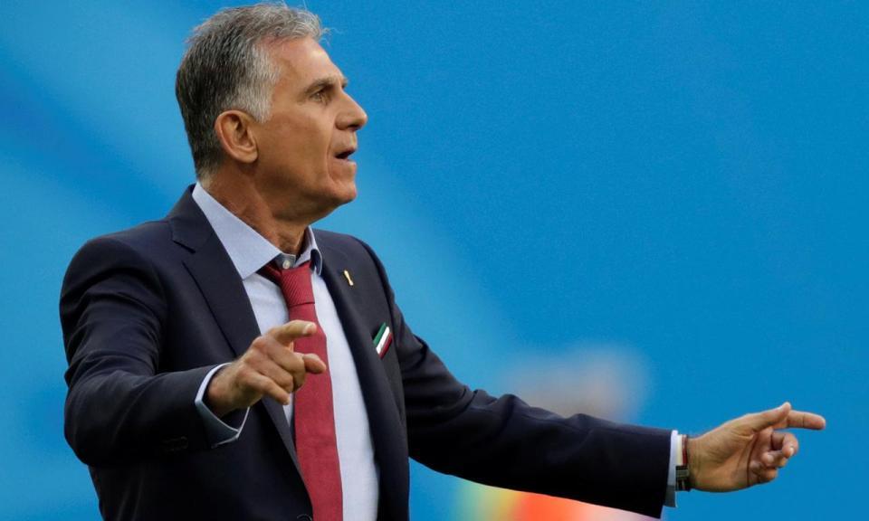 Queiroz: «Confio que posso assinar novo contrato» com o Irão