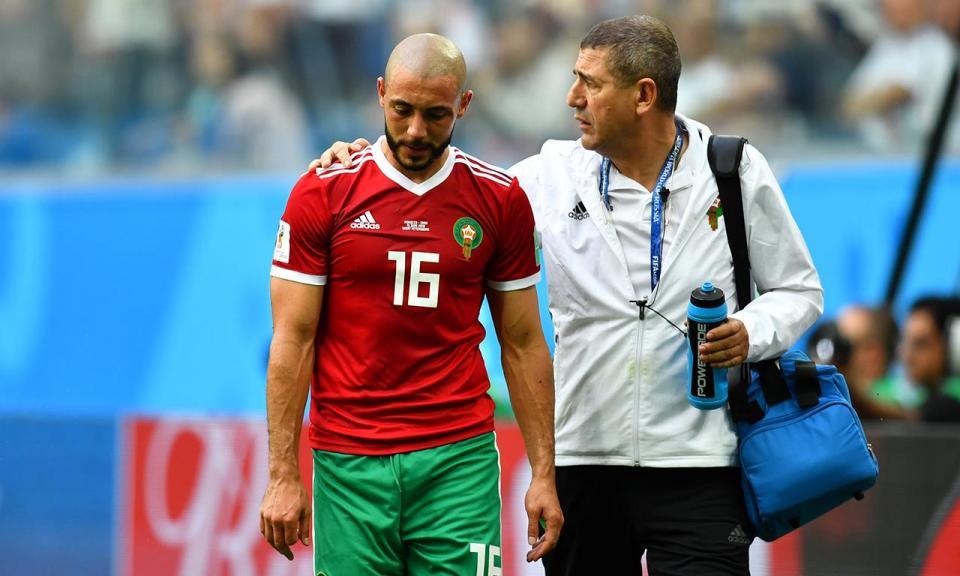 Mundial 2018: marroquino Amrabat falha jogo com Portugal