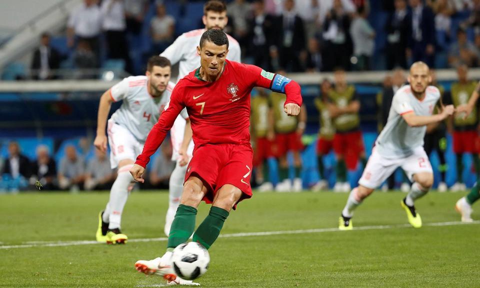 Ronaldo iguala Pauleta com o segundo golo mais rápido em Mundiais
