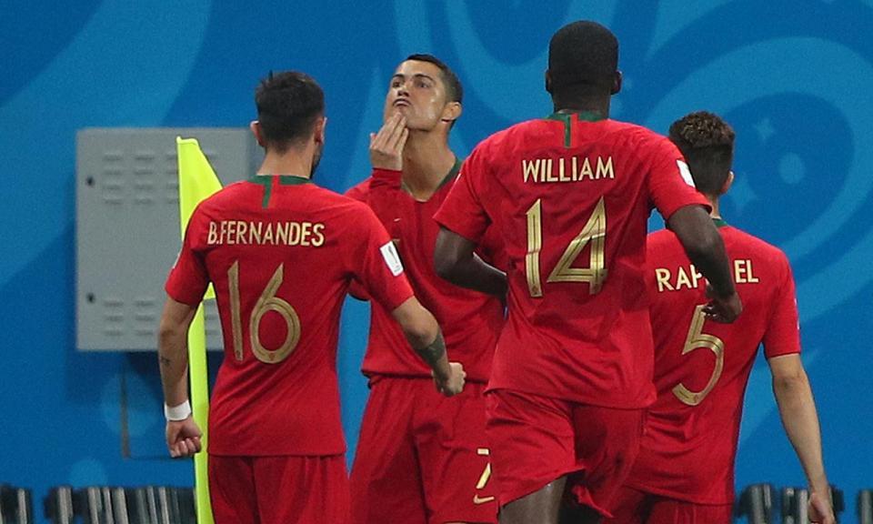 Ronaldo é o quarto jogador a marcar em quatro fases finais seguidas