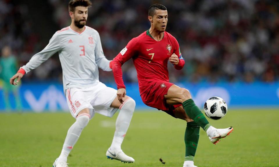 Piqué: «Real mais débil sem Ronaldo? Vai trabalhar mais em conjunto»