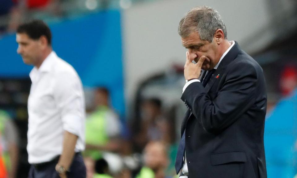 Santos: «Permitimos que Espanha jogasse sistematicamente»