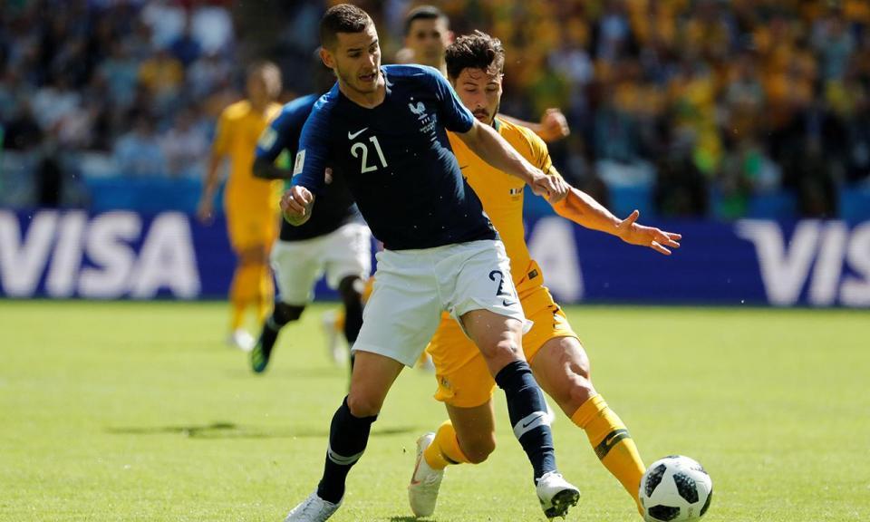Mundial 2018: França-Austrália, 2-1 (resultado final)