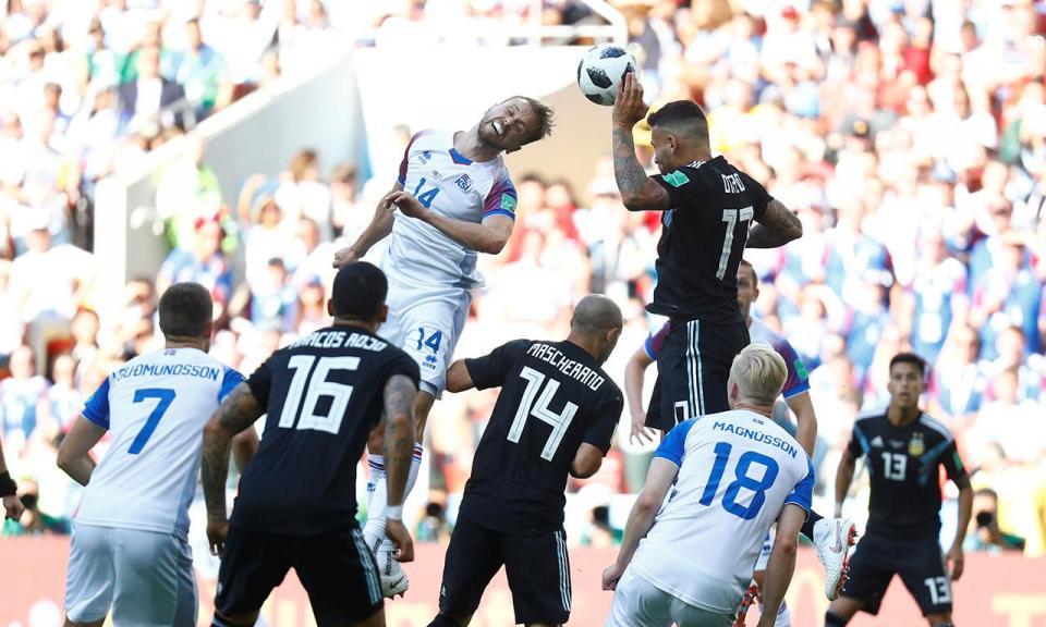 99,6 por cento dos espectadores islandeses viram o jogo com a Argentina