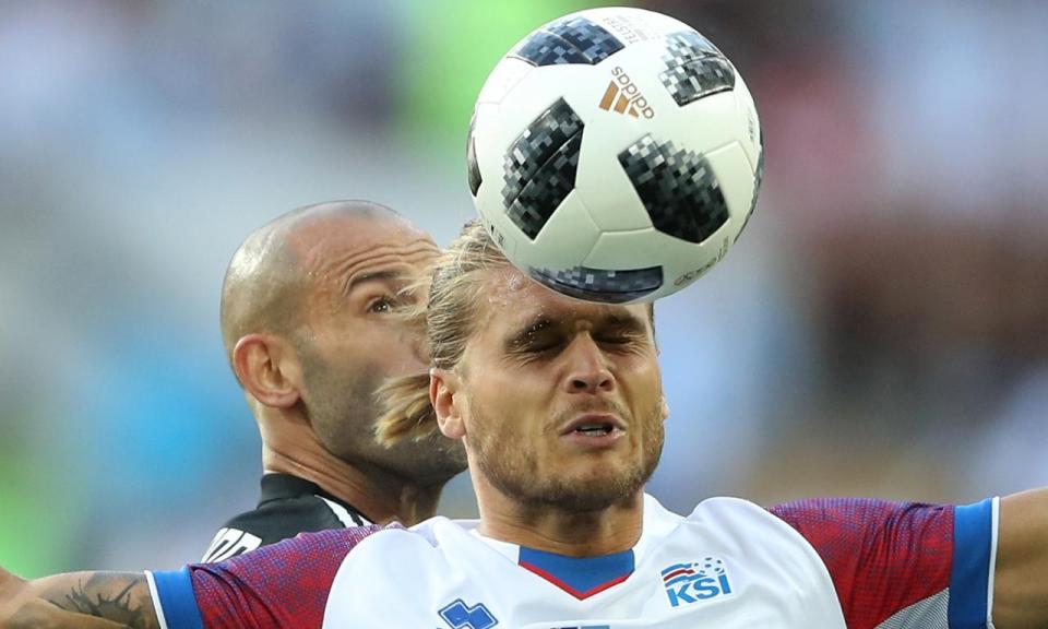Meia hora contra a Argentina valeu 300 mil seguidores a Gíslason