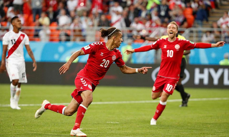 Mundial 2018: Peru-Dinamarca, 0-1 (resultado final)