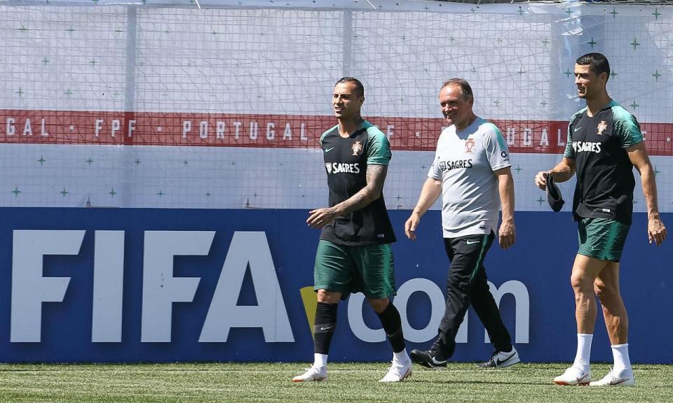 Primeiras baixas na seleção: Moutinho e Raphael Guerreiro não treinaram