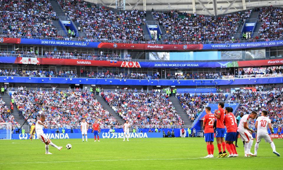 Mundial 2018: Costa Rica-Sérvia, 0-1 (resultado final)