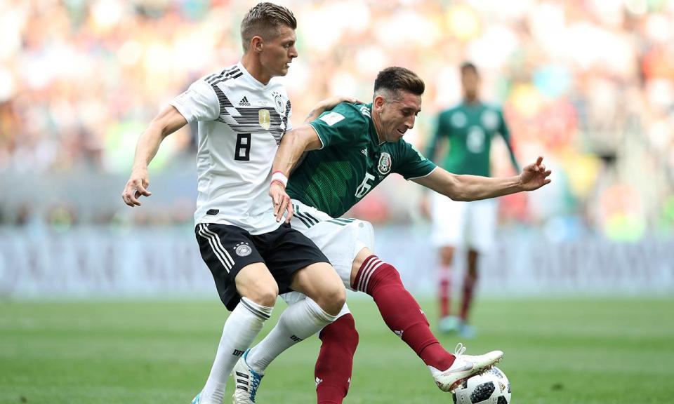 Alemanha-México, 0-1 (destaques)