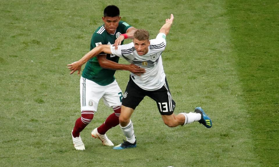 Thomas Müller: «Jogo com o México mostrou as nossas debilidades»