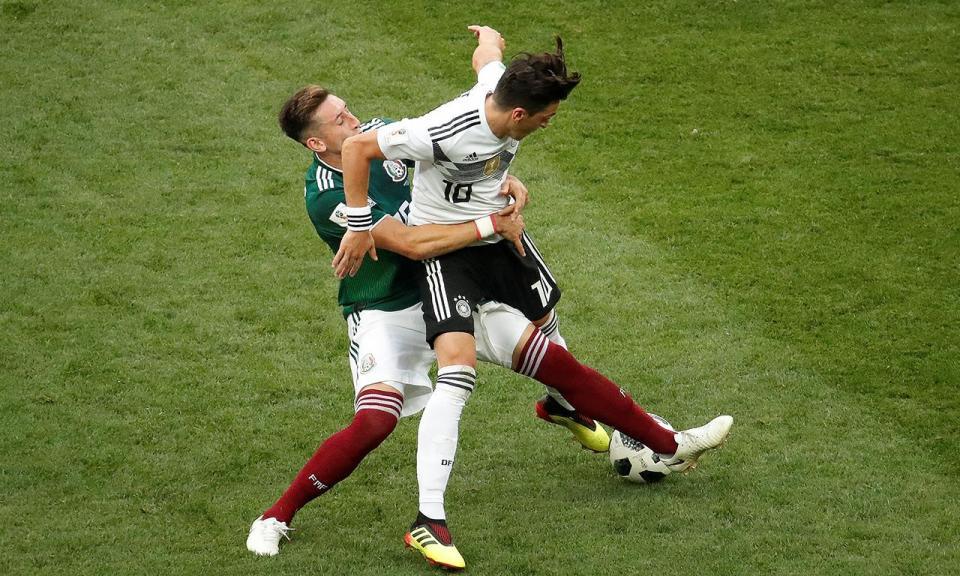 Herrera e Corona fora das opções da seleção do México