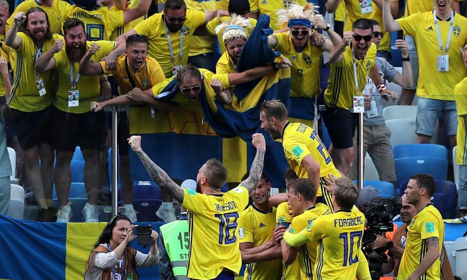 Suécia-Coreia do Sul, 1-0 (resultado final)