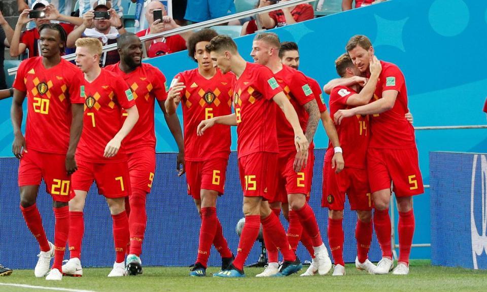 Mundial 2018: Bélgica-Panamá, 3-0 (resultado final)