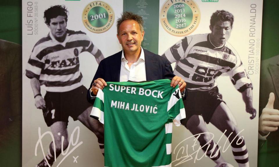 OFICIAL: Sporting comunica denúncia do contrato com Mihajlovic
