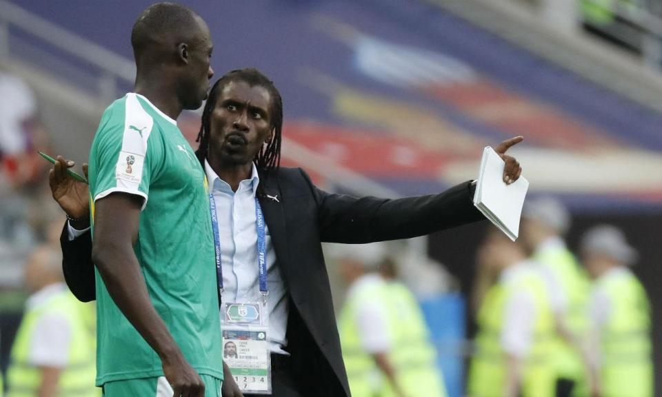 Aliou Cissé: «Estamos orgulhosos de representar África»