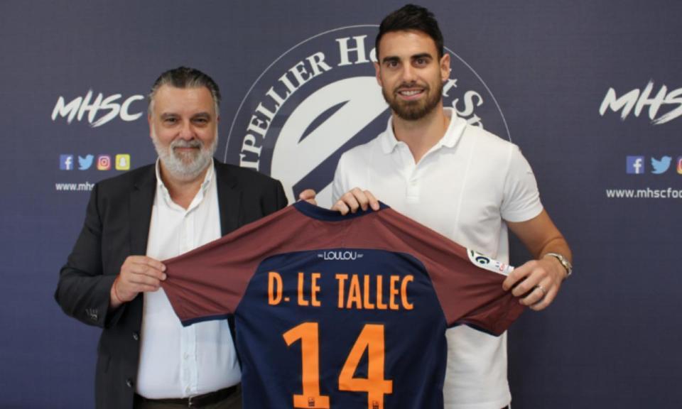 OFICIAL: Le Tallec é reforço do Montpellier